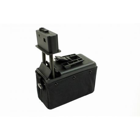 Ammobox 1500 billes Noir pour M249
