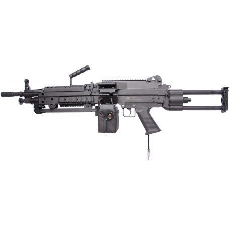 Custom By AG FN M249 HPA F2 SAW Version Fibre de Nylon