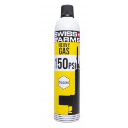 Gaz Swiss Arms Vert (150 PSI) Lubrifié 760 ml