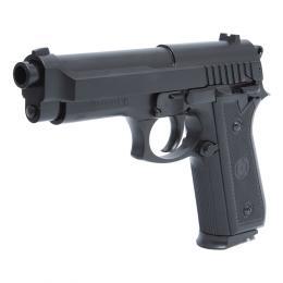 Pistolet PT92 culasse métal manuel à ressort Noir