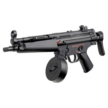 Tokyo Marui Pistolet mitrailleur MP-5 modele A5 High Cycle AEG Noir