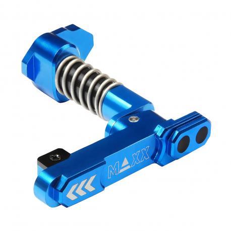 Maintien de chargeur avancé en aluminium CNC ( Style B ) Bleu