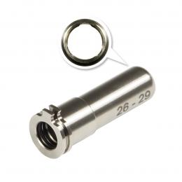 Adjustable Titanium CNC nozzle AEG from 26mm to 29mm
