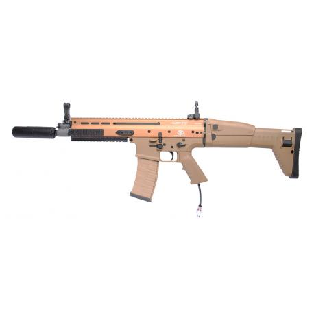 Custom By AG Fusil d'assaut FN Scar-L CQC Mk16 Dark earth + HPA Polarstar F2