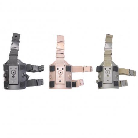 Amomax plaque de cuisse pour holster et porte chargeur