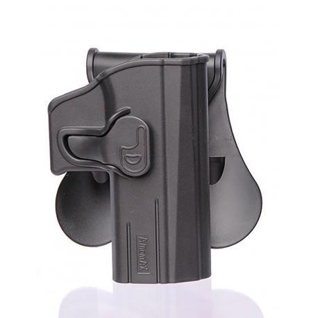 Amomax Holster Noir pour CZ P07 droitier GEN2 Noir