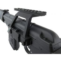 Mounting rail for AKM / AK105 / AKS74U / SVD riflescope