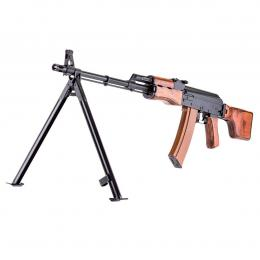 Submachine gun RPKS74 AEG in Real wood and steel