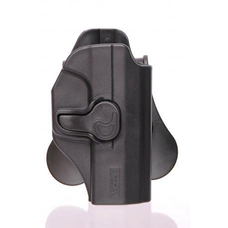 Amomax Holster pour Walther P99 Gen2 Noir