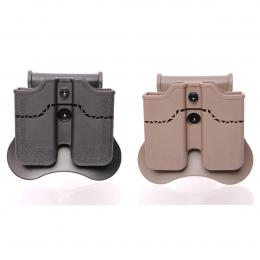 Double mag pouch for 1911