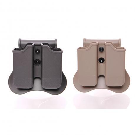 Porte chargeur double pour Glock et SIG SP2022