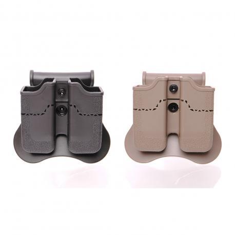 Porte chargeur double pour PX4 / USP / USP compact / P30 / Taurus