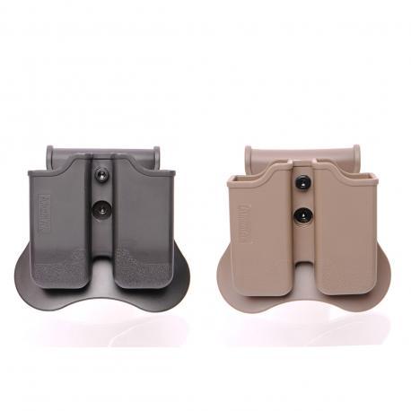 Porte chargeur double pour M92 / P226 / P220 / P229 / CZ P09