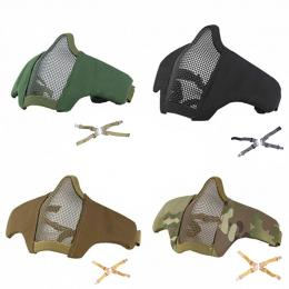 Masque de protection faciale Stalke EVO avec fixation tête + casque