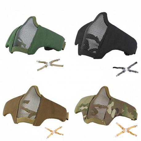 Masque de protection faciale Stalker EVO avec fixation tête + casque