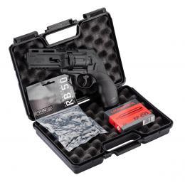 Pack pistol case / Co2 / Ball Cal.50 + Revolver HDR T4E