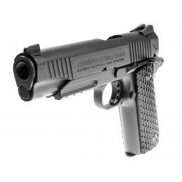 Colt 1911 GBB Pistol Tactical Rail Co2 4.5mm Full metal Black