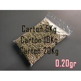 Carton de bille 0.20gr Coyote de couleur Tan en 5 / 10 ou 20kg