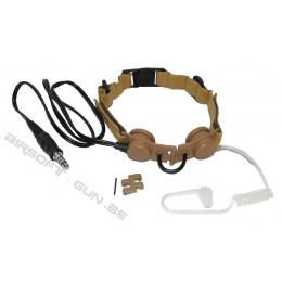 Z Tactical laryngophone throath mic divers coloris