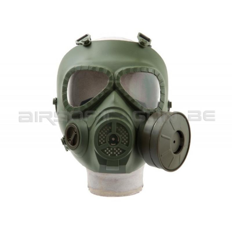 masque gaz m04 ventil army green. Black Bedroom Furniture Sets. Home Design Ideas