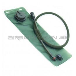 Poche 3L pour hydrobag tube vert