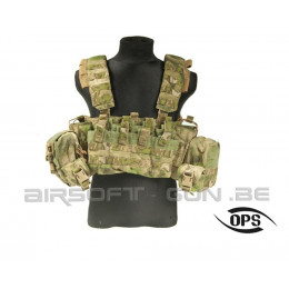UR Tactical OPS Combat Chest Rig A-Tacs Fg