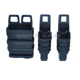 Fast mag chargeur M4 et 2 chargeur MP5 ou GBB noir