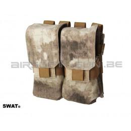 SWAT cordura double poche MOLLE M4 A-tacs