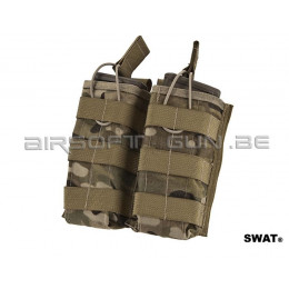 Swat cordura double poche M4 Multicam