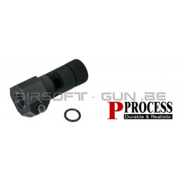 Guarder steel supressor pour Type 96, L96, MB01, APS série ( type A )
