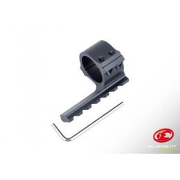 Element anneaux de 30mm avec rail noir