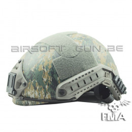 FMA Casque ballistic Digital Woodland