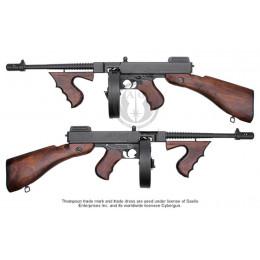 King arms Thompson M1928 EBB vrai bois Blowback