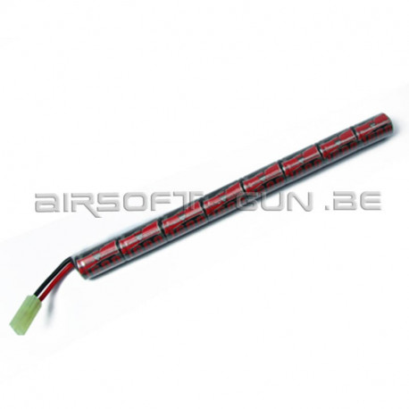 King arms batterie 9.6V 1600mah type tube
