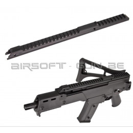 Rail carry handle bas pour G36