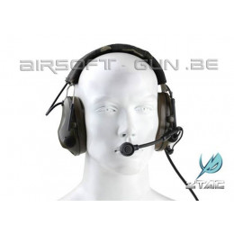 Z tactical Sound trap headset military version OD