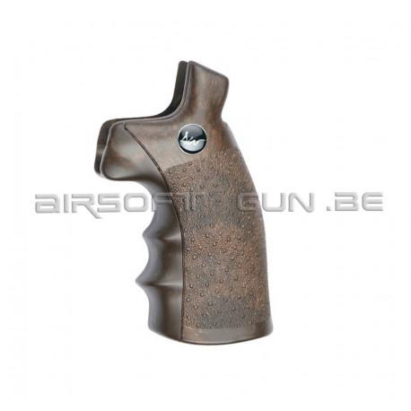 Grip imitation bois pour revolver Dan Wesson