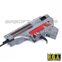 King arms Gearbox V2 complète 9mm M4/M16 cablage avant M135