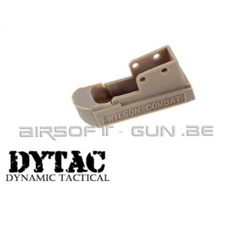 Dytac combat base de chargeur pour M1911 marui dark earth
