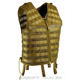 Gilet de combat FORCE ONE II Tan