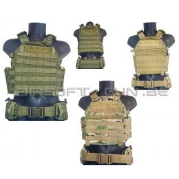 Defcon 5 Vest carrier avec ceinturon en divers coloris
