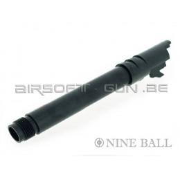 Nine Ball canon externe SAS noir pour marui 1911A1 GBB