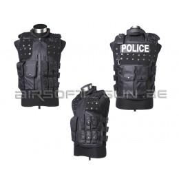 Gilet armor police noir