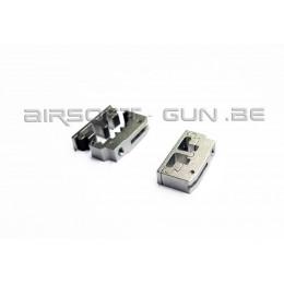 Détente en aluminium CNC type SV pour GBB TM Hi-capa 4.3/5.1