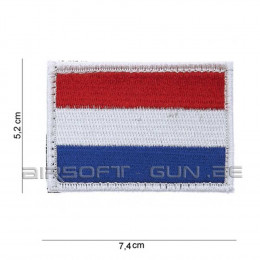 Patch drapeau HOLLANDE avec velcro