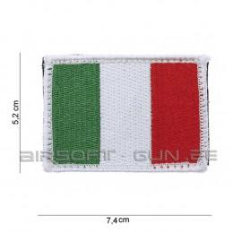 Patch drapeau ITALIE avec velcro
