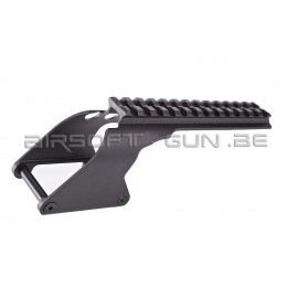G&P Rail suppérieur pour shotgun Marui M870 ( short version )