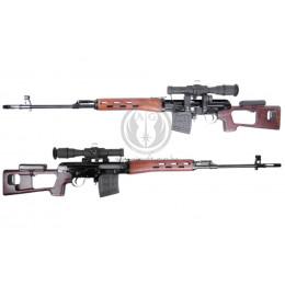 King arms SVD dragunov sniper spring + vrai bois et lunette