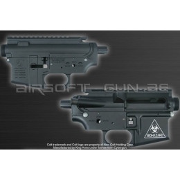 King arms Corps M4 metal body Colt (biohazard) noir