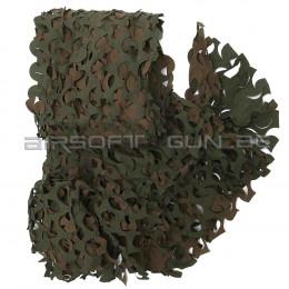 Filet de camouflage woodland de 3 X2.4M